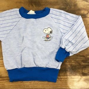 Vintage snoopy jumper sweater 1958